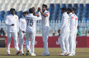 Kasun Rajitha celebrates a wicket, Pakistan v Sri Lanka, 1st Test, Rawalpindi, Day 5
