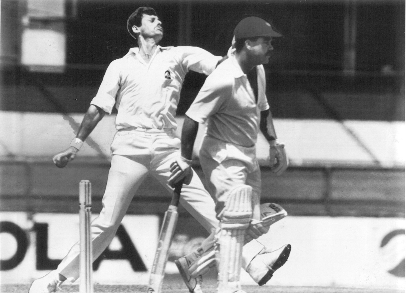 Hadlee took ten wickets in the Test but couldn't give New Zealand a series win