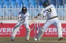 Azhar Ali plays a cut, Pakistan v Sri Lanka, 1st Test, Rawalpindi, Day 5