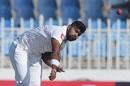 Lahiru Kumara bowls, Pakistan v Sri Lanka, 1st Test, Rawalpindi, Day 5