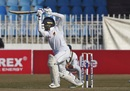Dhananjaya de Silva drives past point, Pakistan v Sri Lanka, 1st Test, Rawalpindi, Day 5