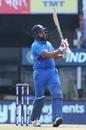 Rohit Sharma unfurls a pull shot, India v West indies, 1st ODI, Chennai, December 15, 2019