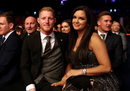 Ben Stokes with wife Clare at the BBC's Sports Personality of the Year awards
