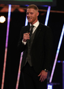 Ben Stokes on stage at the BBC's Sports Personality of the Year awards