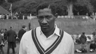 Basil Butcher was one of Wisden's Cricketers of the Year in 1970