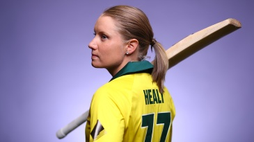 Alyssa Healy has been named T20I Cricketer of the Year for the second year running