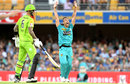 Josh Lalor appeals for lbw, Brisbane Heat v Sydney Thunder, Big Bash, Brisbane, December 17, 2019