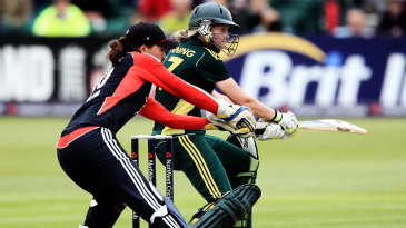 Sarah Taylor: fluid, and drawing the ball towards her before the batsman has even completed the shot