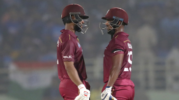 Shai Hope and Nicholas Pooran put on a threatening stand