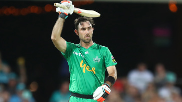 Glenn Maxwell brought up a scintillating half-century