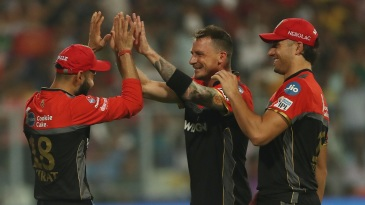 Dale Steyn played two games for RCB in 2019 before a shoulder injury cut his season short