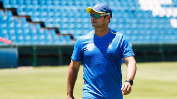 Mark Boucher is back in a South Africa shirt