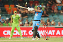 Jonathan Wells hooks during his rapid half-century, Sydney Thunder v Adelaide Strikers, BBL 2019-20, Canberra, December 21, 2019