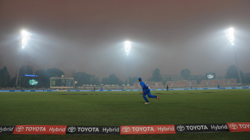 Visibility got poor during Sydney Thunder's chase