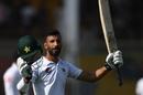 Shan Masood celebrates his hundred, Pakistan v Sri Lanka, 2nd Test, Karachi, Day 3, December 21, 2019