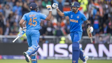 If you extrapolate Kohli's and Sharma's figures to the number of innings Tendulkar and Ganguly played, the former pair come out in front