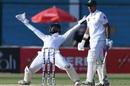 Niroshan Dickwella's animated appeal against Abid Ali turned down, Pakistan v Sri Lanka, 2nd Test, Karachi, Day 3, December 21, 2019