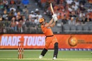 Mitchell Marsh is quite strong down the ground, Perth Scorchers v Melbourne Renegades, Big Bash League, Perth, December 21, 2019