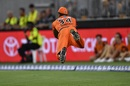 Air (Chris) Jordan, after sprinting several yards to his right at full tilt, Perth Scorchers v Melbourne Renegades, Big Bash League, Perth, December 21, 2019