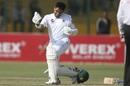 Abid Ali celebrates his hundred, Pakistan v Sri Lanka, 2nd Test, Karachi, 3rd day, December 21, 2019