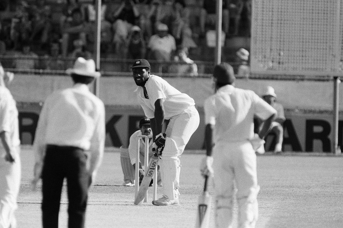 Viv Richards in his stance