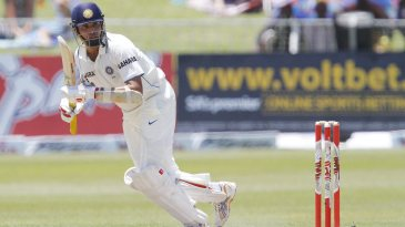 VVS Laxman was the only Indian batsman to go past 50 in the Test, against bowlers like Dale Steyn and Morne Morkel
