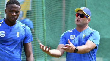 Jacques Kallis has joined up as South Africa's batting coach