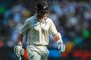 Kane Williamson walks off after his dismissal, Australia v New Zealand, 2nd Test, Melbourne, 2nd day, December 27, 2019