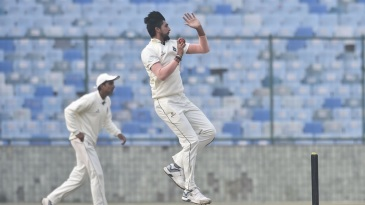 Ishant Sharma was among the wickets in his first Ranji game of the season