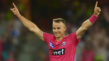 Tom Curran has a knack for thriving in pressure situations