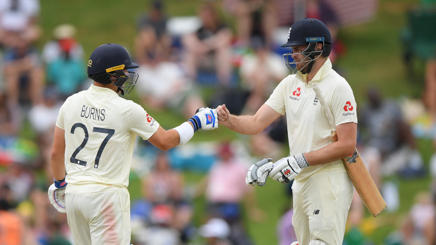 Rory Burns repels South Africa to give England hope in fourth innings