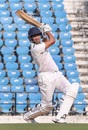 Ganesh Satish plays a shot, Vidarbha v Punjab, Ranji Trophy 2019-20, 1st day, Nagpur, December 25, 2019