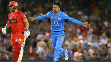 Rashid Khan took two wickets