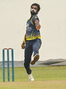Nisala Tharaka hits his delivery stride, Saracens Sports Club v Colts Cricket Club, SLC Invitation Limited Over Tournament, Colombo, December 19, 2019