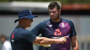 Dom Sibley is the latest England player to suffer with illness