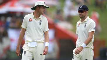 Stuart Broad and James Anderson were both expensive at Centurion