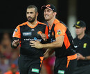 Fawad Ahmed finished with 3 for 16, Brisbane Heat v Perth Scorchers, BBL, Carrara, January 1, 2020