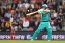 Max Bryant set the Heat innings up with a blazing 36-ball 65, Hobart Hurricanes v Brisbane Heat, Big Bash League, Hobart, January 3, 2019