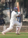 Suryakumar Yadav plays one on the off side, Mumbai v Karnataka, Ranji Trophy 2019-20, Mumbai, 1st day, January 3, 2020