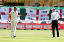 Stuart Broad was denied a wicket after replays showed he had overstepped, South Africa v England, 2nd Test, Cape Town, 2nd day, January 4, 2020