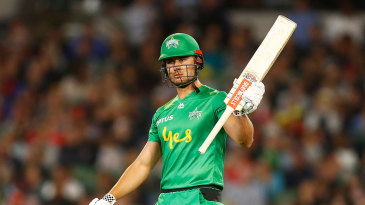 Marcus Stoinis led the Melbourne Stars to victory