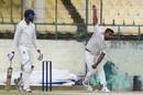 Pankaj Jaiswal was the most impressive of the Himachal Pradesh bowlers, Himachal Pradesh v Madhya Pradesh, Ranji Trophy 2019-20, 2nd day, Dharamsala, January 4, 2020