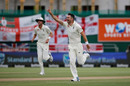 Rabada wins duel with Crawley