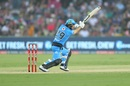 Jonathan Wells fought well for the Strikers, Sydney Sixers v Adelaide Strikers, BBL 2019-20, Coffs Harbour, January 5, 2020