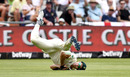 Dwaine Pretorius takes a catch to dismiss Joe Denly, South Africa v England, 2nd Test, Cape Town, January 5, 2020