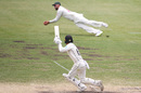 Nathan Lyon takes a diving catch to dismiss Tom Blundell, Australia v New Zealand, 3rd Test, Sydney, 4th day, January 6, 2020