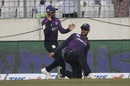 Ryan Burl moments after pulling off a special catch in the BPL