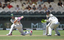 Faf du Plessis sweeps and is caught at square leg, South Africa v England, 2nd Test, Cape Town, 5th day, January 7, 2020