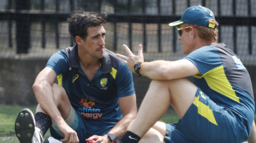 Andrew McDonald chats with Mitchell Starc