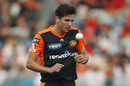 Jhye Richardson gets back to his run up, Melbourne Renegades v Perth Scorchers, BBL 2019-20, Geelong, January 7, 2020